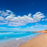 La Azohia beach Murcia in Mediterranean Spain Stock Image