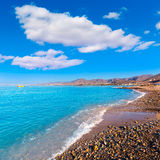 La Azohia beach Murcia in Mediterranean Spain Royalty Free Stock Photo