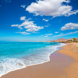 La Azohia beach Murcia in Mediterranean Spain Royalty Free Stock Photos