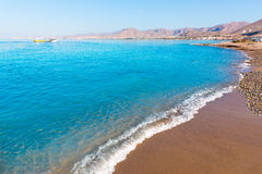 La Azohia beach Murcia in Mediterranean Spain Stock Photography