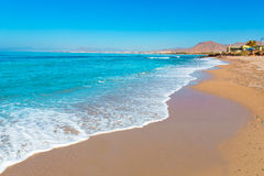 La Azohia beach Murcia in Mediterranean Spain Royalty Free Stock Photography