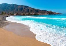 La Azohia beach Murcia in Mediterranean Spain Stock Images