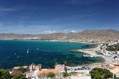La Azohia, Spagna fotografie stock