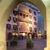 La azotea de oro, Innsbruck, Austria Foto de archivo libre de regalías