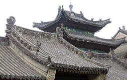 La azotea del templo antiguo. Imágenes de archivo libres de regalías