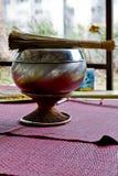 La bénédiction a placé pour des bouddhistes Image stock