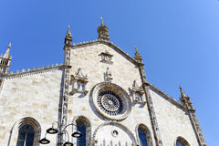 La bóveda de Como - IL duomo di como (las TIC) Fotografía de archivo