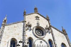 La bóveda de Como - IL duomo di como las TIC Imagen de archivo