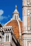 La bóveda de Florencia, detalles Imagen de archivo libre de regalías