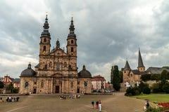 La bóveda de Fulda imágenes de archivo libres de regalías