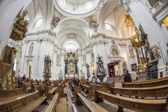 La bóveda de Fulda Foto de archivo libre de regalías