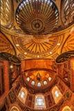 La bóveda de Hagia Sophia, Estambul, Turquía Fotografía de archivo libre de regalías