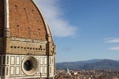 La bóveda de la Florencia Imágenes de archivo libres de regalías
