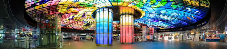 La bóveda de la luz Imagen de archivo