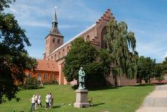 La bóveda en Odense Fotos de archivo