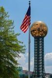 La bóveda justa de mundo en Knoxville imágenes de archivo libres de regalías