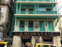 La B famosa Merwan Bakery & ristorante iraniano 1914 immagine stock