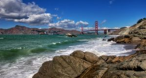 La bahía #4 (panorama). Foto de archivo