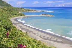 La bahía azul del océano Foto de archivo libre de regalías