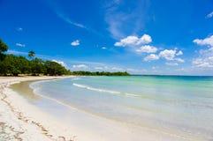 La bahía de cerdos, playa Giron, Cuba Imagen de archivo