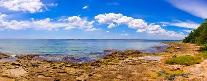 La bahía de cerdos, playa Giron, Cuba Imagenes de archivo