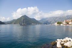 La bahía de Kotor Imagen de archivo
