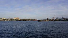 La bahía de oro del cuerno Foto de archivo
