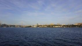 La bahía de oro del cuerno Fotos de archivo