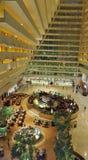 La bahía del puerto deportivo enarena el hotel, Singapur Fotos de archivo libres de regalías