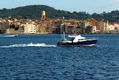 La bahía del santo Tropez Imagen de archivo