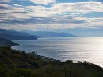 La bahía en la luz de la tarde Fotografía de archivo libre de regalías