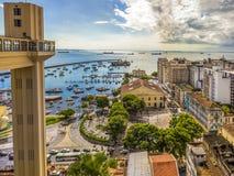 La Bahia de Todos os Santos Immagine Stock Libera da Diritti