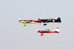 La BAHRAIN il 17 dicembre 2011: Giorno nazionale Airshow della Bahrain Fotografie Stock Libere da Diritti