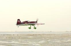 La BAHRAIN il 17 dicembre 2011: Giorno nazionale Airshow della Bahrain Fotografie Stock