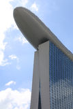La baia del porticciolo di Singapore smeriglia l'hotel Fotografie Stock Libere da Diritti