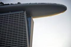 La baia del porticciolo smeriglia l'hotel, Singapore Fotografia Stock