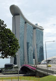 La baia del porticciolo smeriglia Singapore Immagini Stock Libere da Diritti