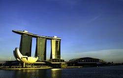 La baia del porticciolo smeriglia Singapore Immagine Stock Libera da Diritti