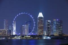 La baia del porticciolo smeriglia Singapore fotografia stock libera da diritti