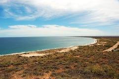 La baia di Exmouth, Australia Prenotazione del parco della tartaruga Fotografia Stock Libera da Diritti