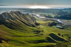 La baia di Hawke In qualche luogo in Nuova Zelanda Fotografia Stock