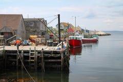 La baia di Peggy, Nova Scotia Fotografie Stock