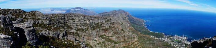 La baia Sudafrica della Tabella Immagine Stock Libera da Diritti