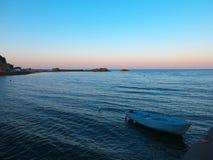 La baie d'Ahtopol Photographie stock