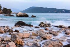 La baie de Kotor Photo stock
