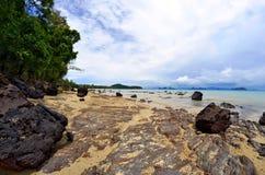 La baie de Phang Nga de l'île de Yao Noi Photographie stock