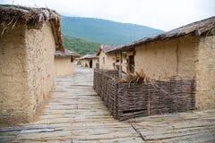 La baie des os, Macédoine Image stock