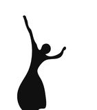 La bailarina Ilustración del Vector