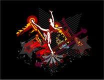 La bailarina del baile Imagen de archivo libre de regalías