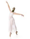 La bailarina está en el respirador Fotos de archivo